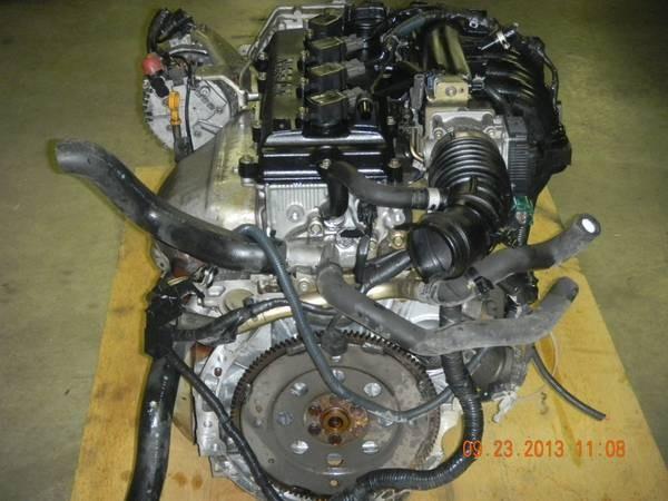 JDM NISSAN ALTIMA FRONTIER SENTRA QR20DE COMPLETE ENGINE 2 ...