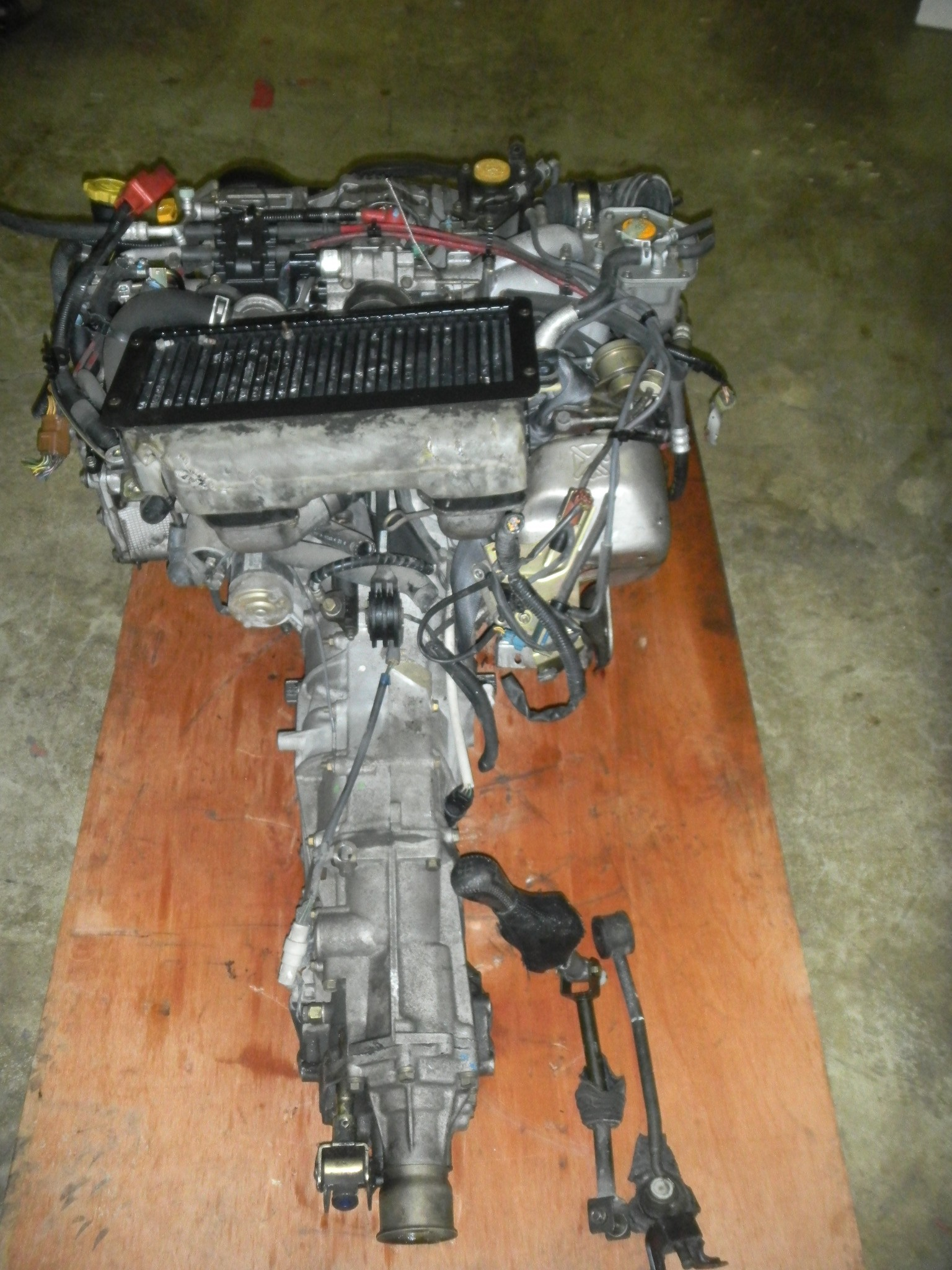 JDM SUBARU FORESTER (99-01) EJ20 TURBO ENGINE WITH 5 SPEED