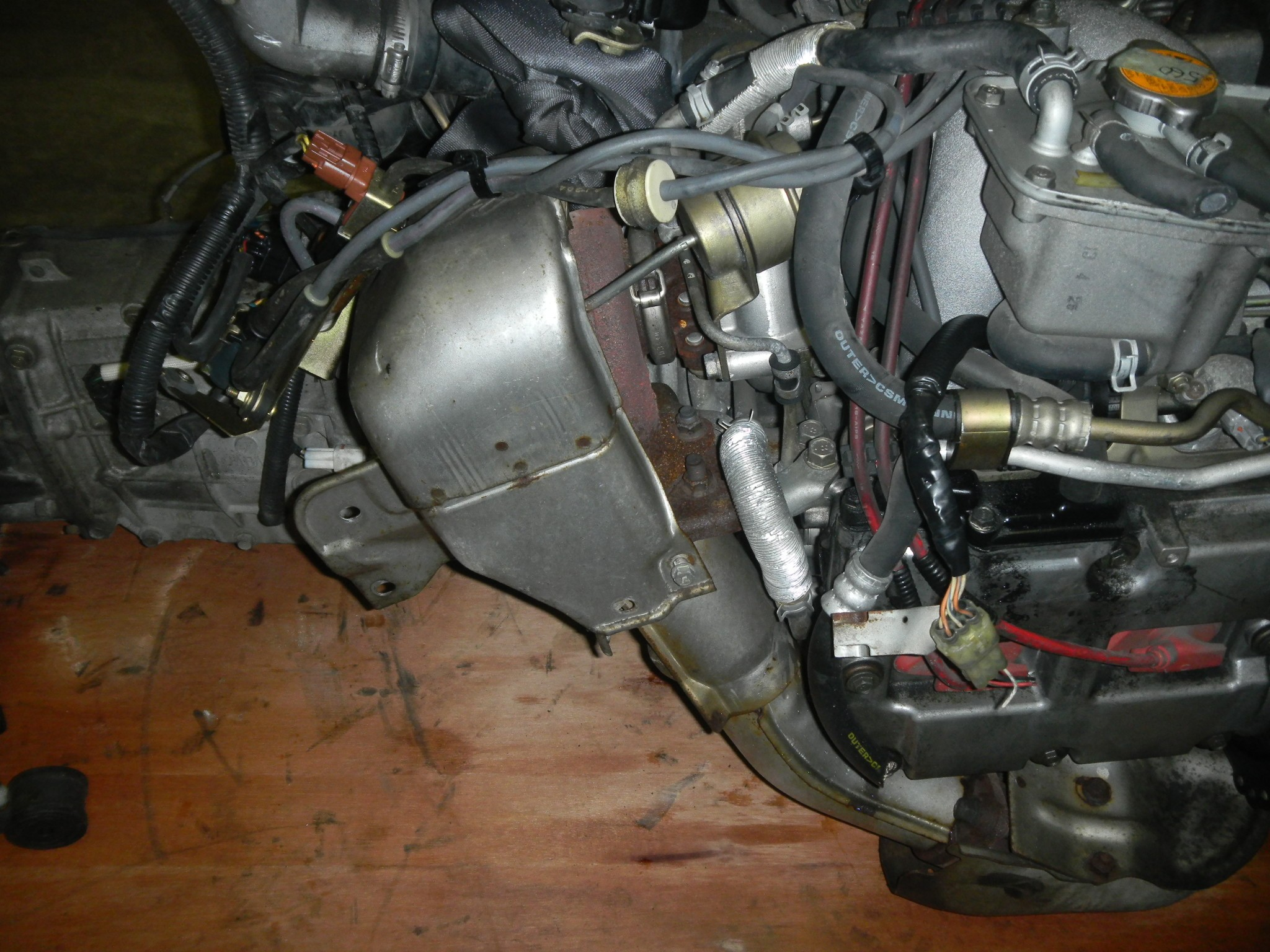 JDM SUBARU FORESTER (99-01) EJ20 TURBO ENGINE WITH 5 SPEED