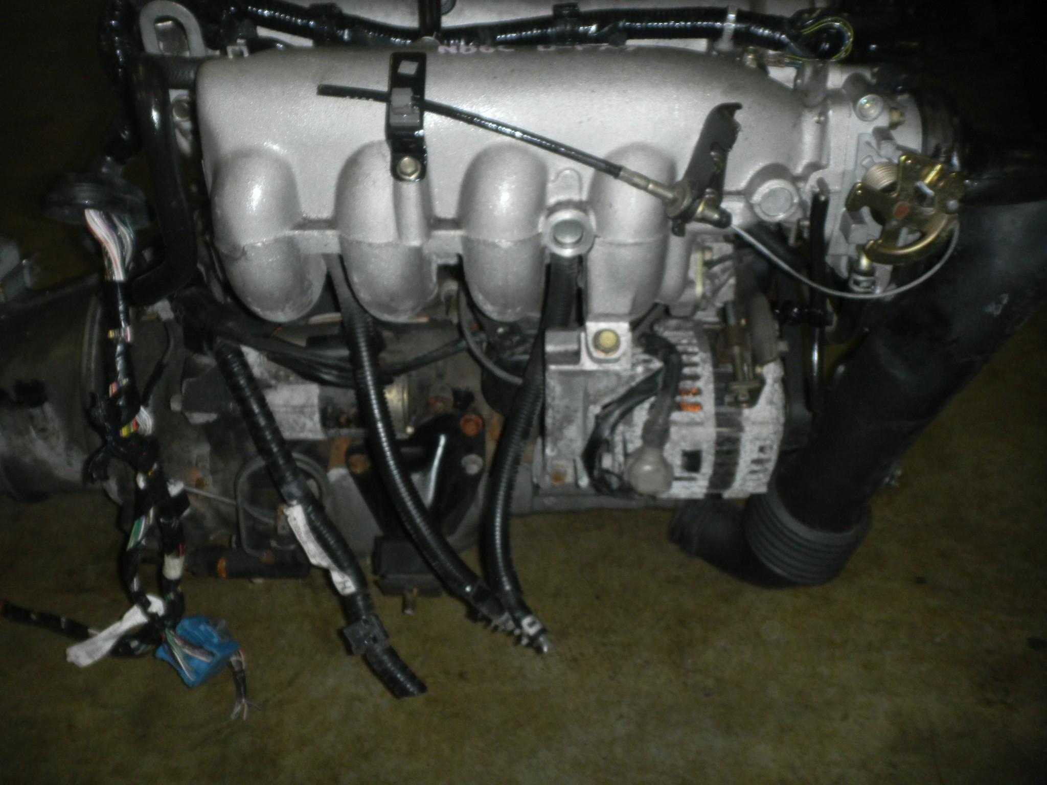 jdm mazda mx5 miata b6ze 1 6l complete swap manual ecu 90 93 engines   transmission mazda 1999 miata auto to manual swap nb miata auto to manual swap