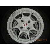 JDM HONDA/ACURA DC2 INTEGRA CIVIC TYPE-R WHEELS RIMS 4X114 AND CONVERSION SPINDLES