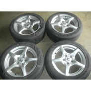JDM HONDA S 2000  PRELUDE ACCORD ODYSSEY ALLOY RIMS AND TIRES 5 X 114.3